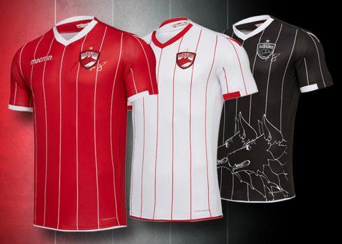 Camisetas 2018/19 del Dinamo de Bucarest | Imagen Macron