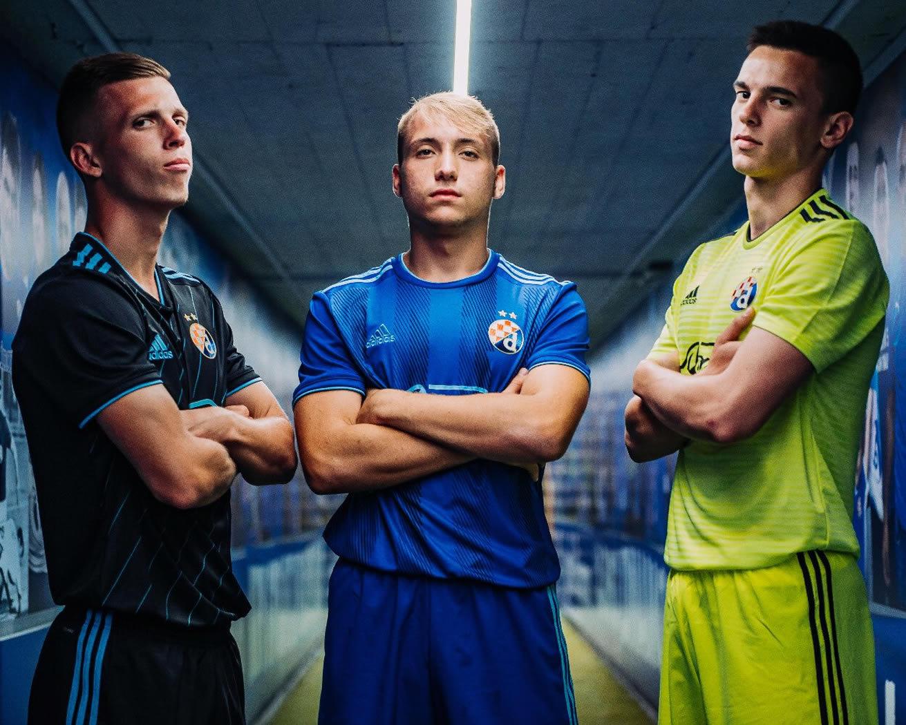 Camisetas Adidas del Dinamo Zagreb | Imagen Web Oficial