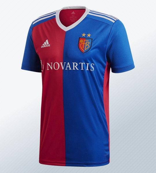 Camiseta titular del FC Basel 2018/19 | Imagen Adidas