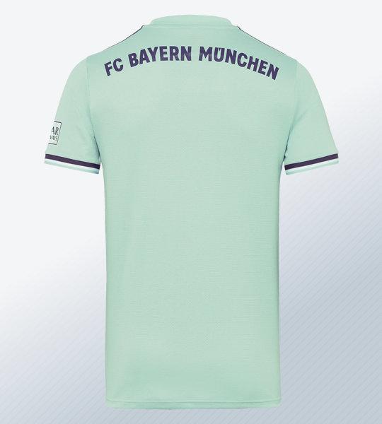 Camiseta suplente Adidas 2018/19 del FC Bayern München | Imagen Web Oficial