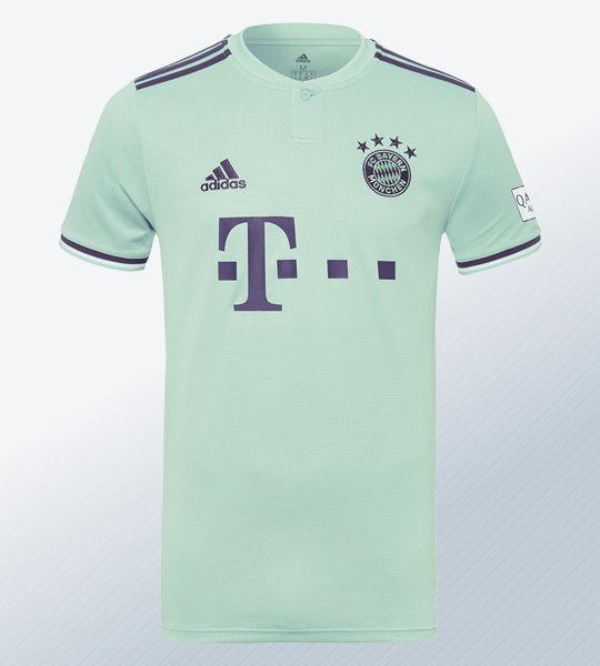 Camiseta suplente Adidas del Bayern Munich 2018/2019