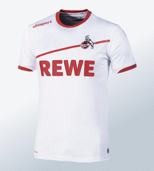 Camiseta titular uhlsport del FC Köln 2018/19   Imagen Web Oficial