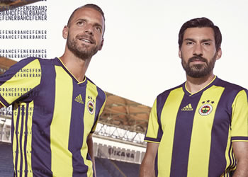Camiseta titular Adidas del Fenerbahçe 2018/19 | Imagen Web Oficial