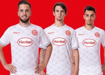 Camiseta suplente uhlsport del Fortuna Düsseldorf 2018/19 | Imagen Web Oficial