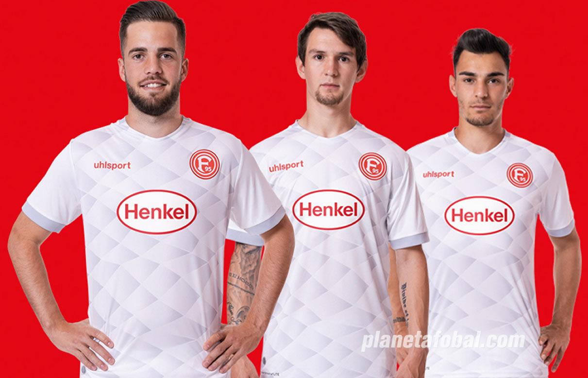 Camiseta suplente uhlsport del Fortuna Düsseldorf 2018/19   Imagen Web Oficial