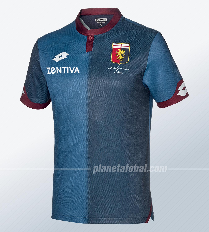 Tercera camiseta del Genoa CFC 2018/19 | Imagen Web Oficial
