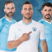 Camisetas Puma de la selección de Israel   Imagen IFA