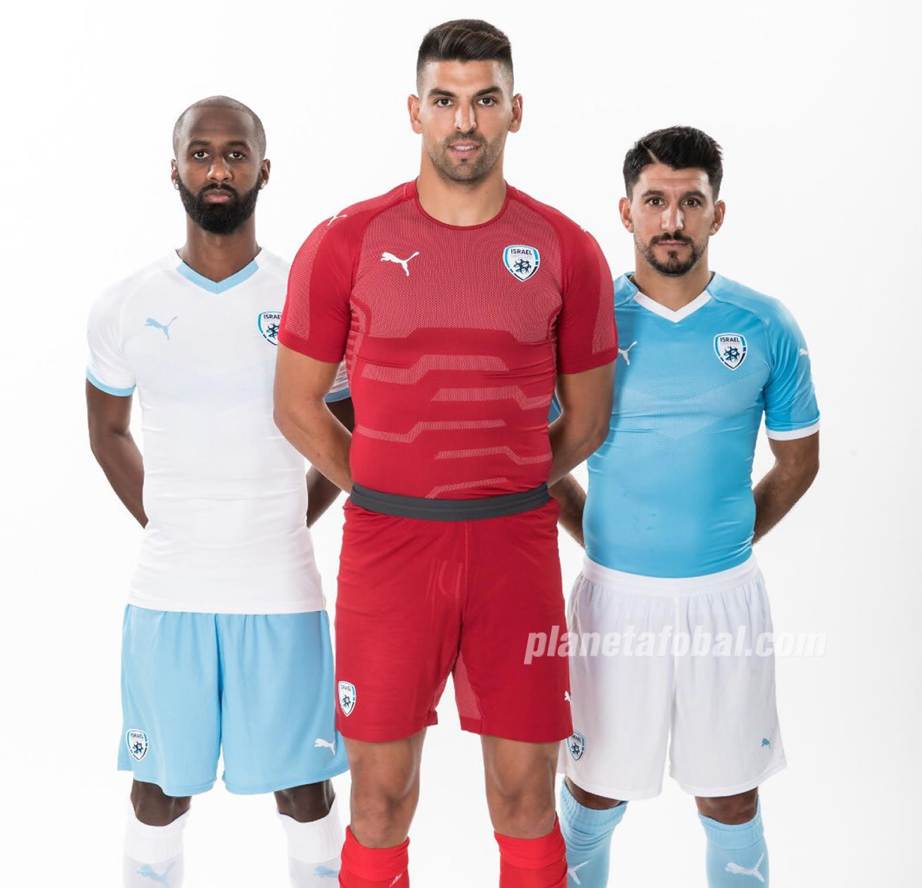 Camisetas Puma de la selección de Israel | Imagen IFA