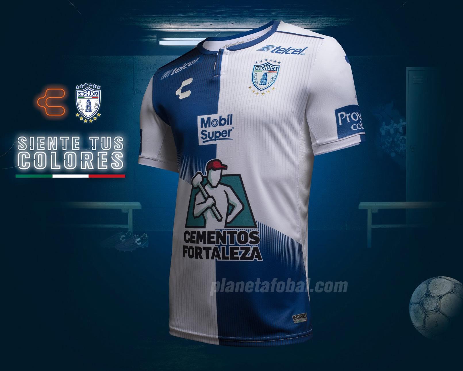 Camiseta titular de los Tuzos del Pachuca | Imagen Charly