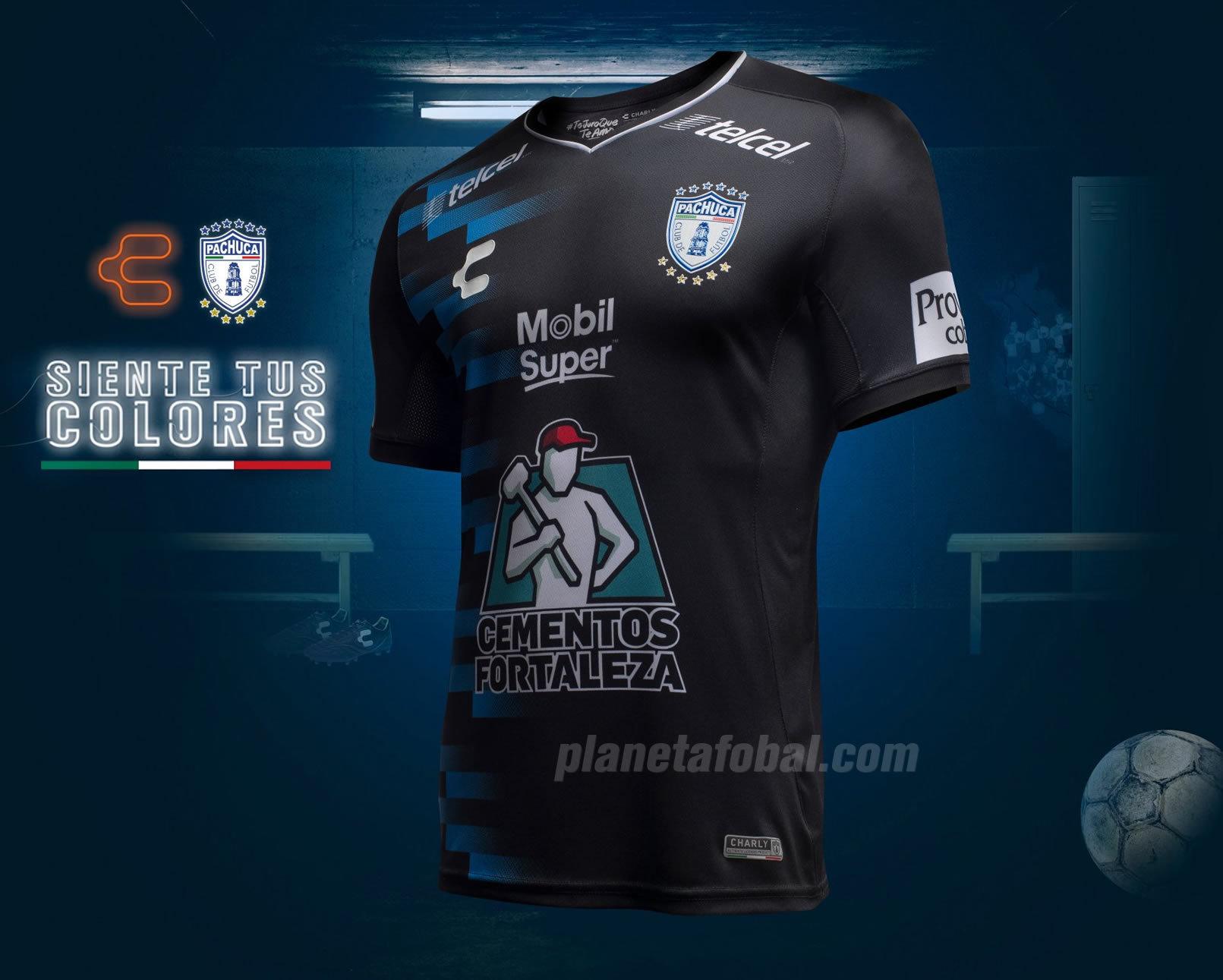 Camiseta visitante de los Tuzos del Pachuca | Imagen Charly