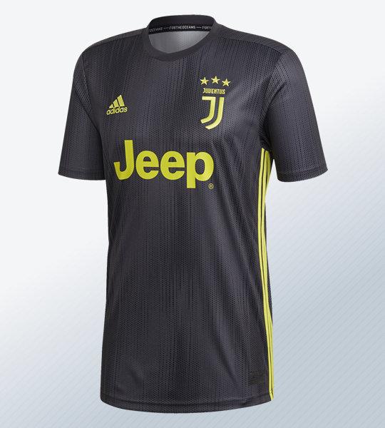 Tercera camiseta de la Juventus 2018/19 | Imagen Adidas