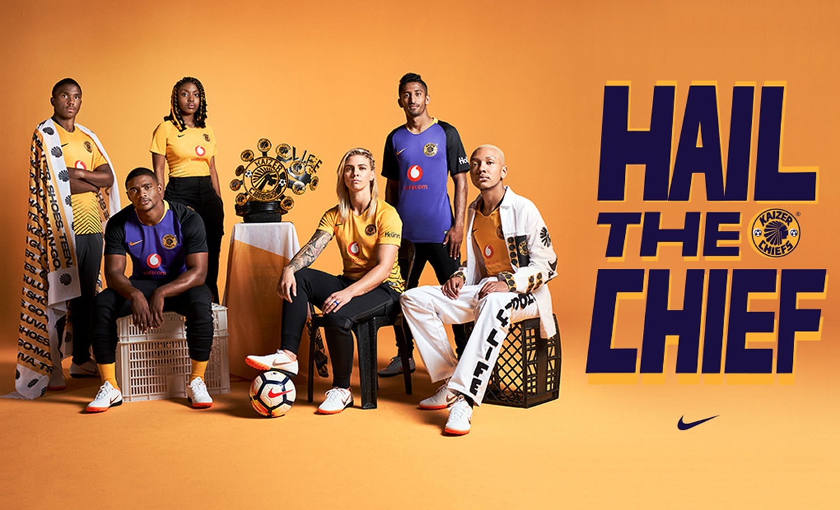 Camisetas Nike del Kaiser Chiefs 2018/2019 | Imagen Web Oficial
