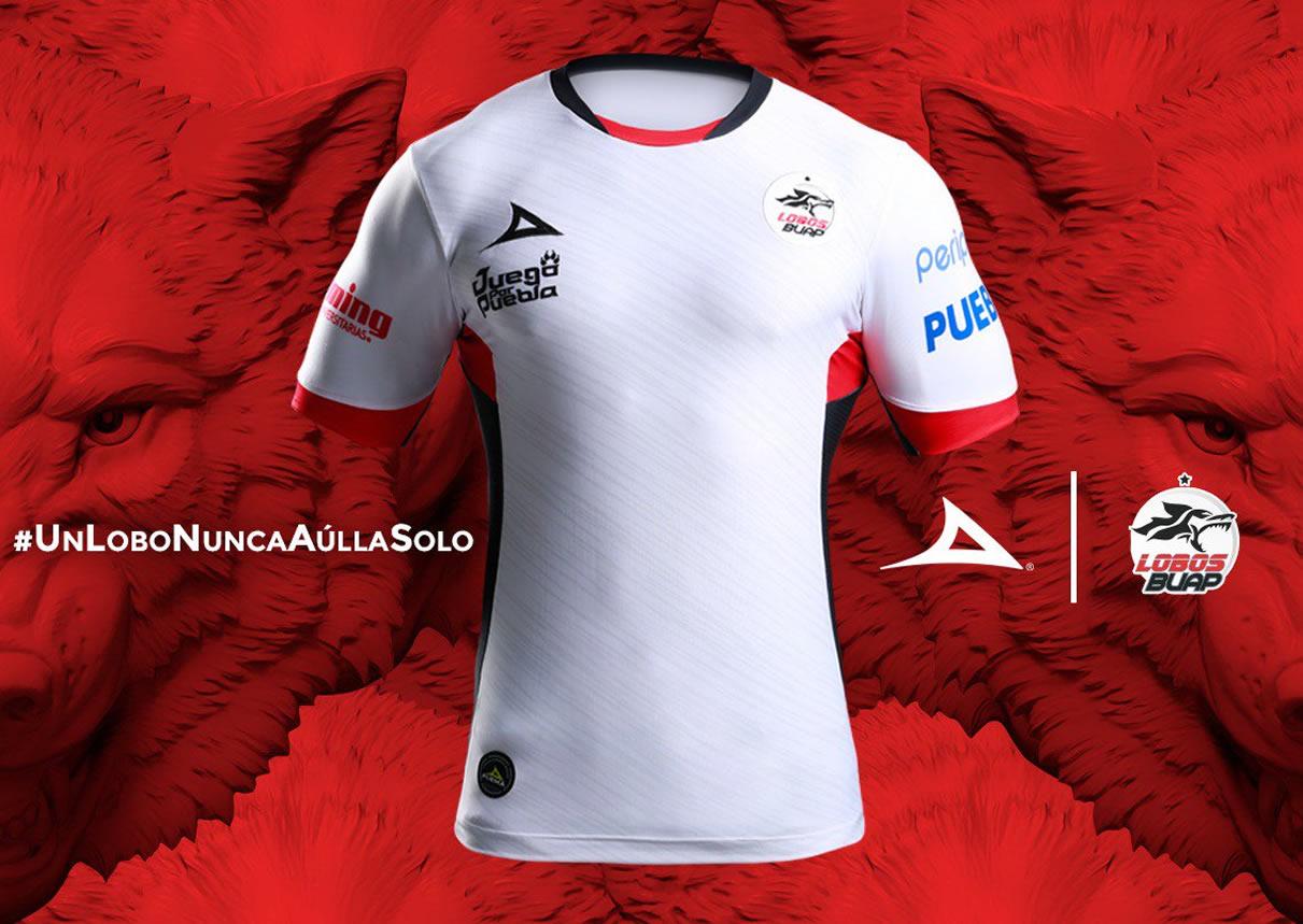 Camiseta titular de los Lobos BUAP 2018/19 | Imagen Pirma