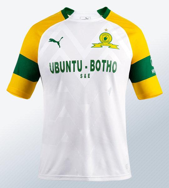 Camiseta suplente del Mamelodi Sundowns FC 2018/19 | Imagen Puma