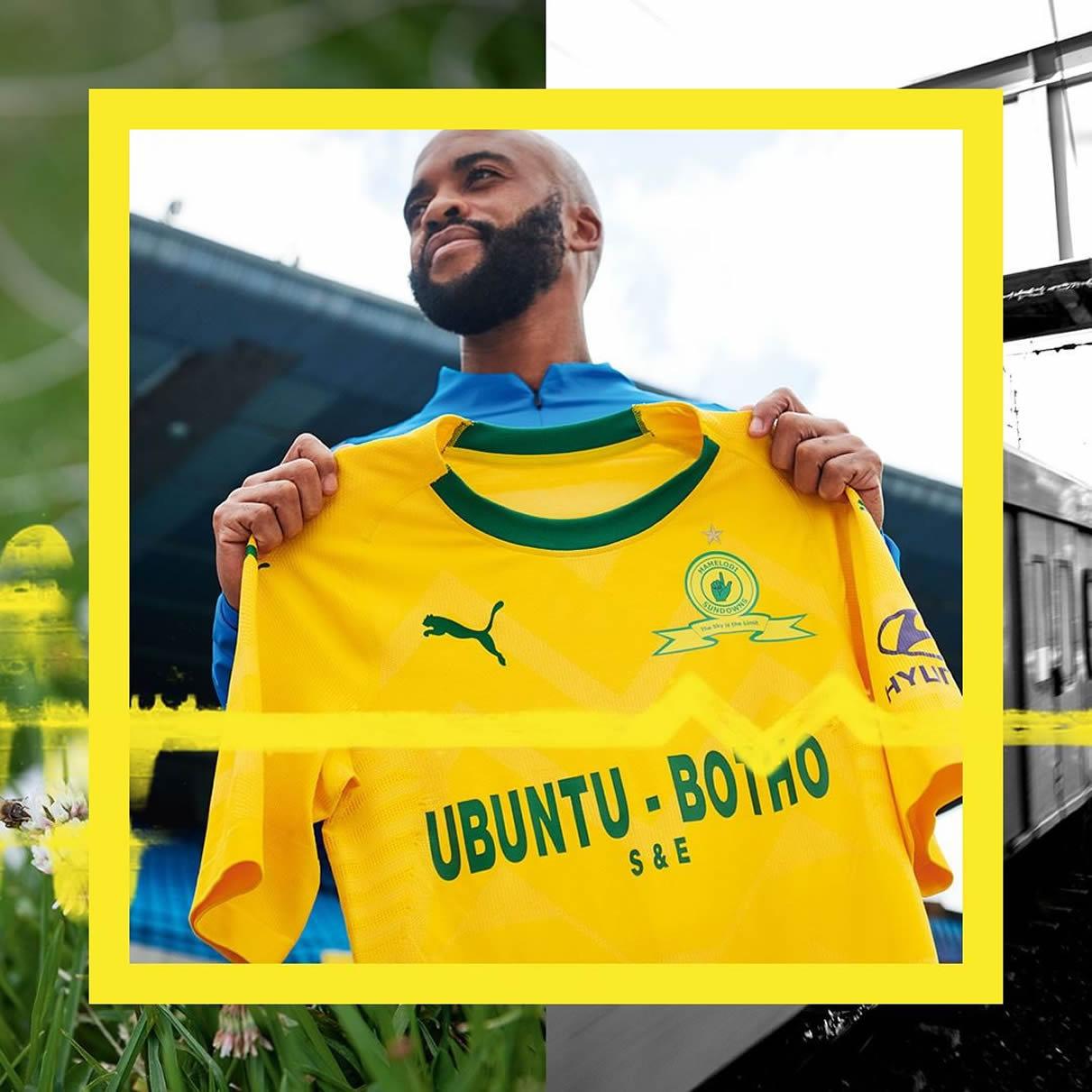 Camiseta titular del Mamelodi Sundowns FC 2018/19 | Imagen Puma