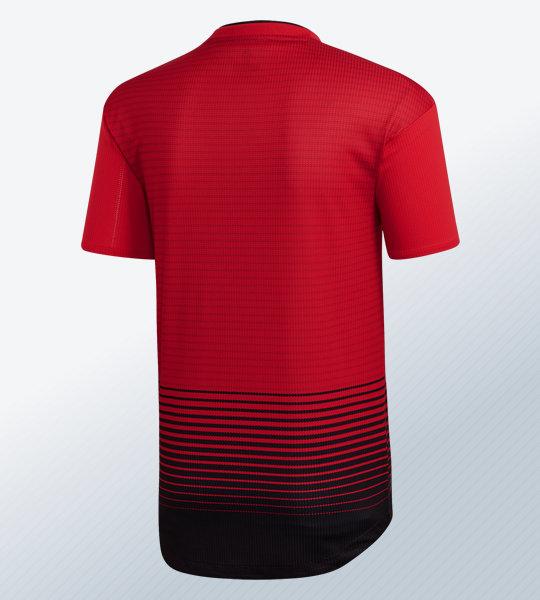 Camiseta titular 2018/19 del Manchester United | Imagen Adidas
