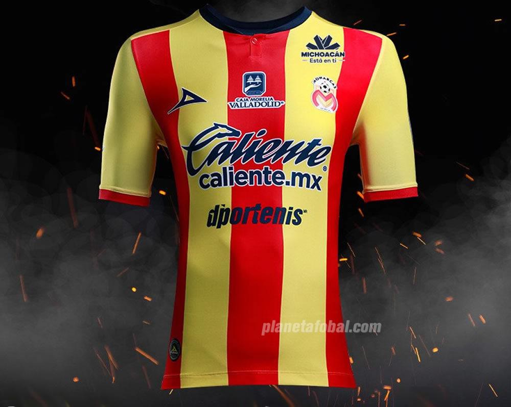 Camiseta titular de los Monarcas Morelia 2018/19 | Imagen Pirma