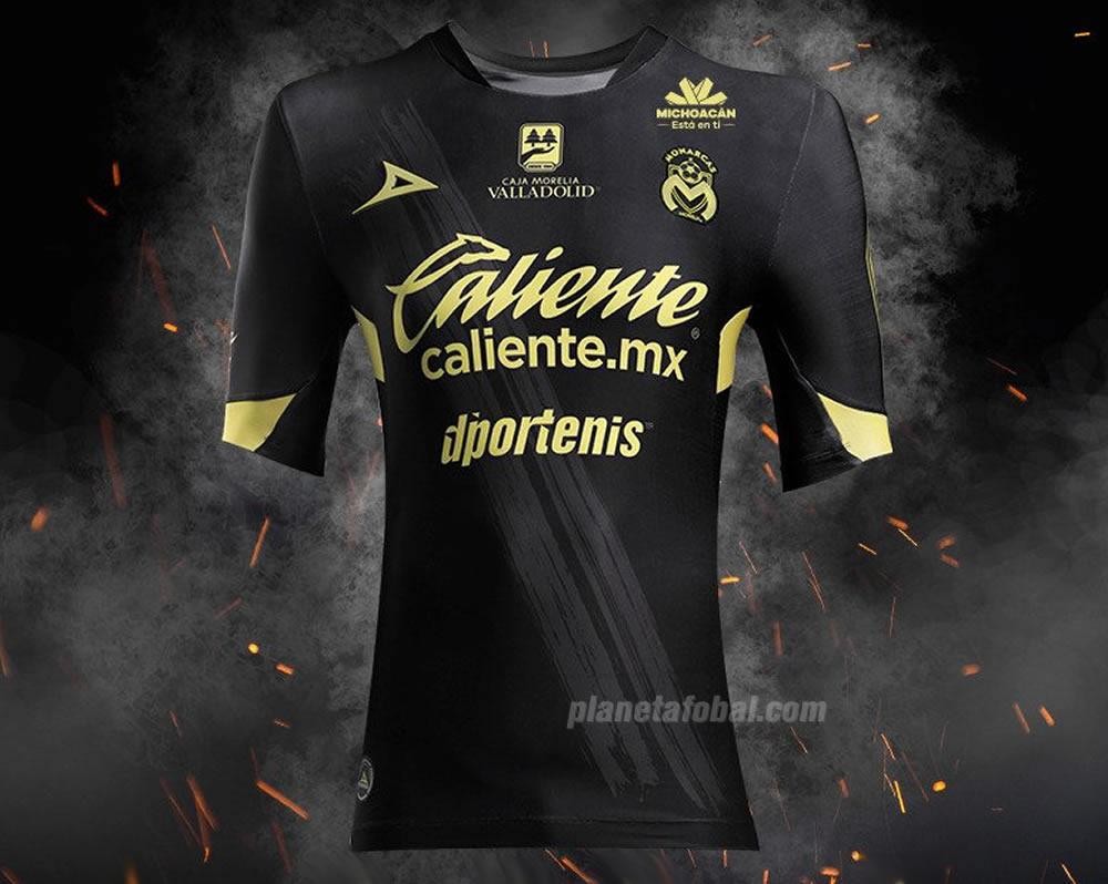 Camiseta suplente de los Monarcas Morelia 2018/19 | Imagen Pirma