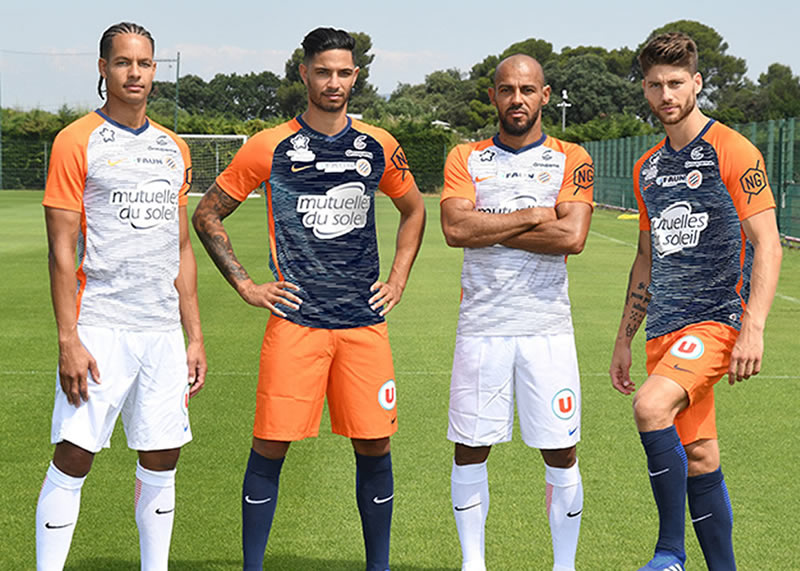 Camisetas Nike del Montpellier 2018/19   Imagen Web Oficial
