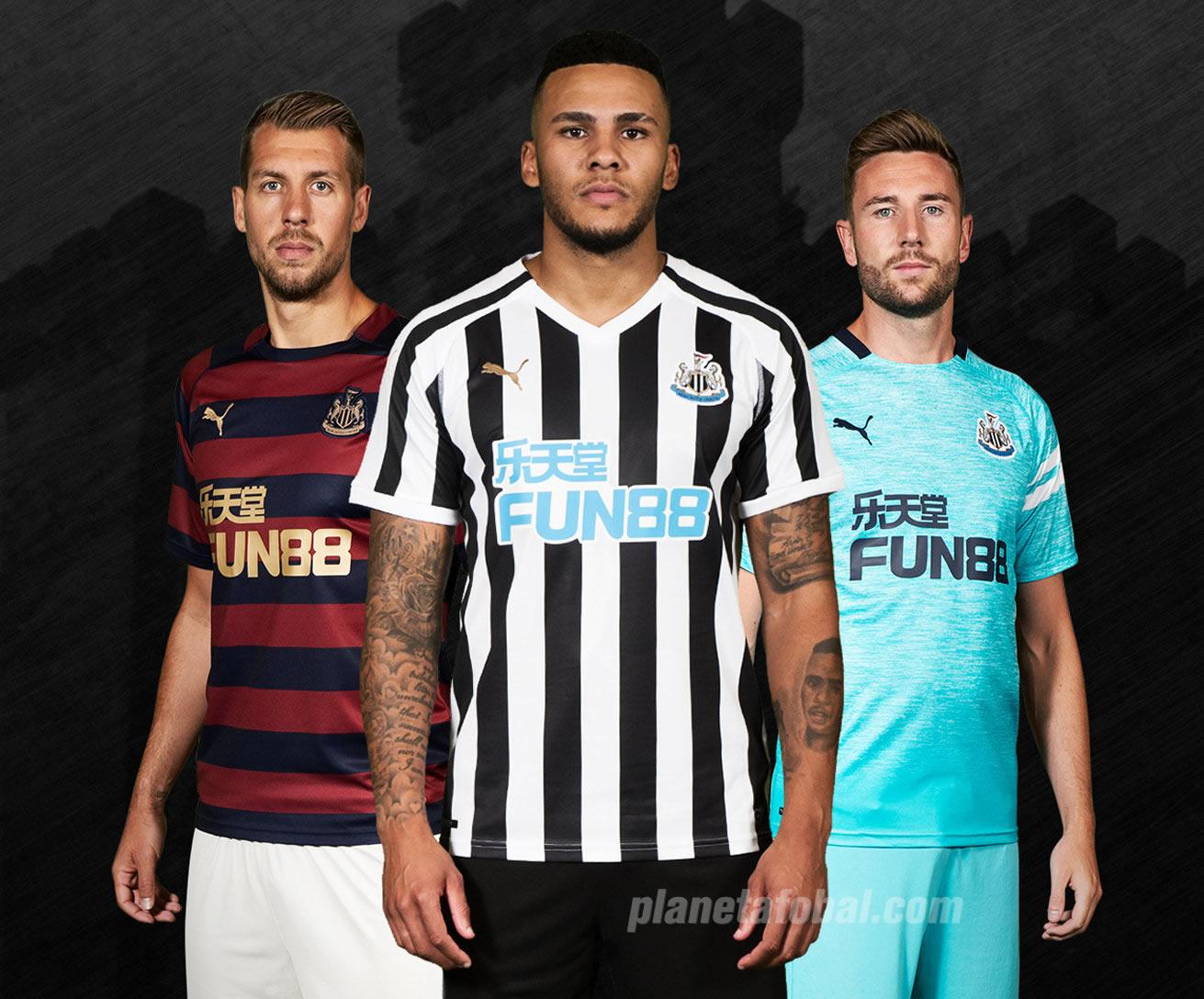 Camisetas Puma del Newcastle   Imagen Web Oficial