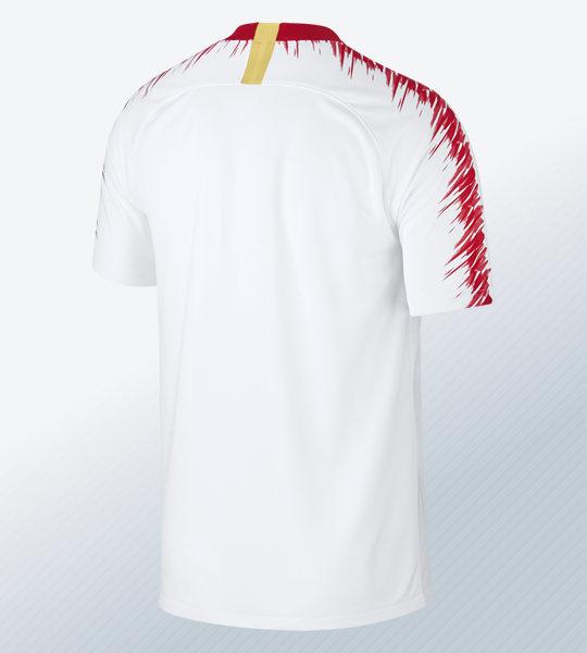 Camiseta titular del RasenBallsport Leipzig 2018/19 | Imagen Nike
