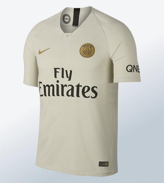 Camiseta suplente 2018/19 del Paris Saint-Germain | Imagen Nike