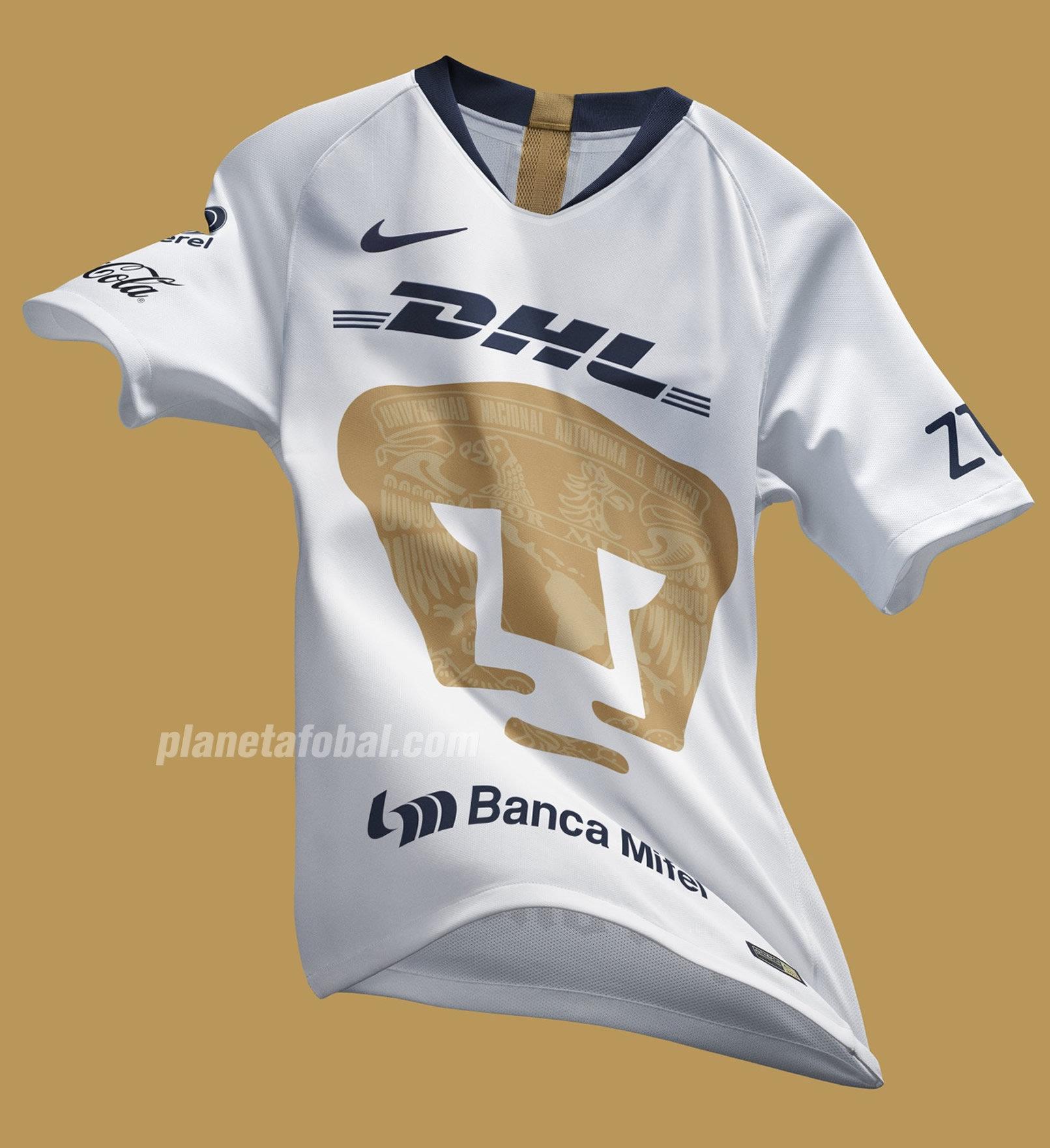 b99269617ca30 Camisetas Nike de los Pumas de la UNAM 2018 2019