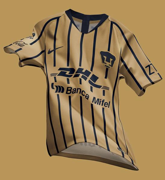 Camiseta visitante de los Pumas de la UNAM | Imagen Nike
