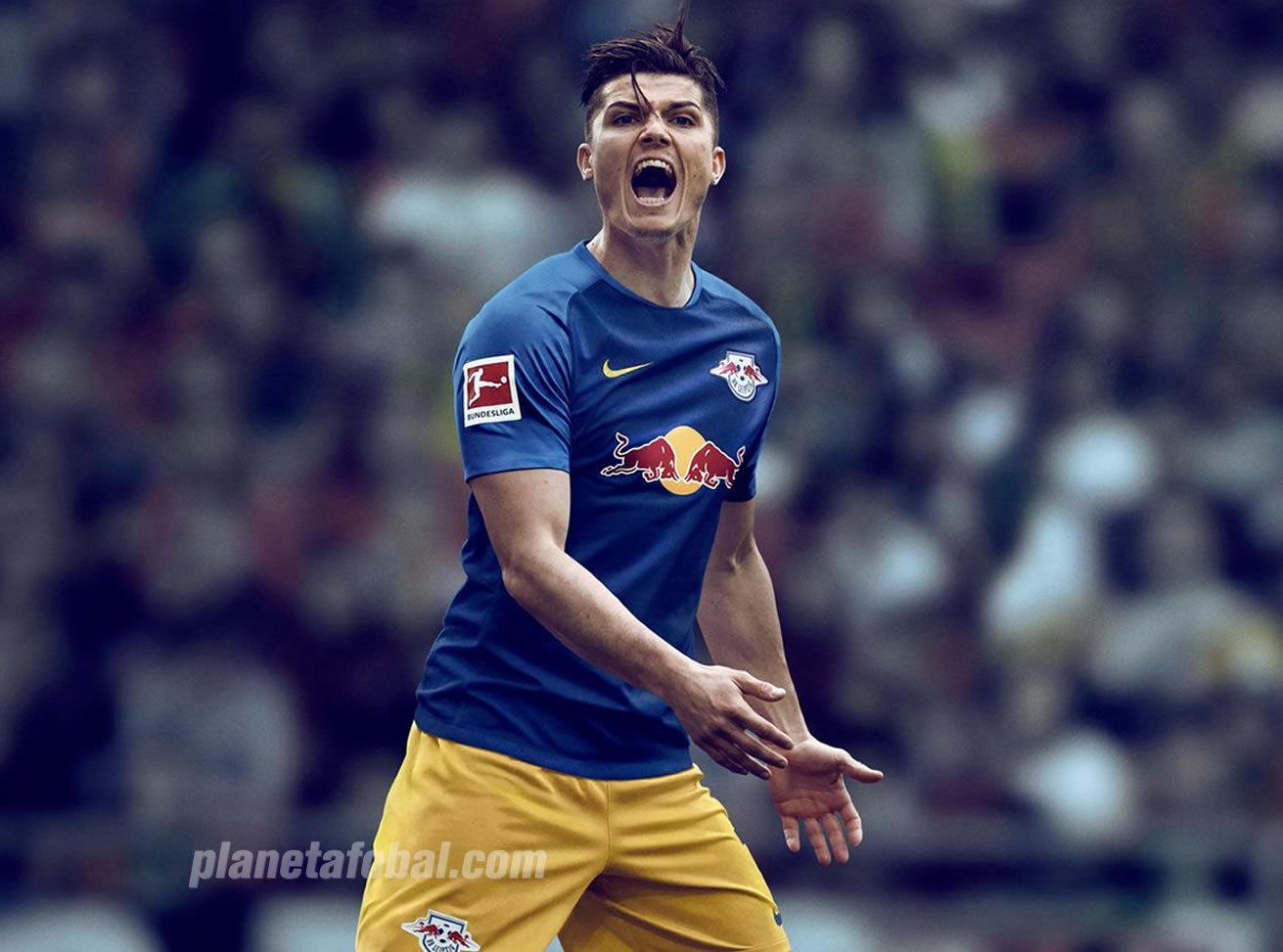Camiseta suplente del RasenBallsport Leipzig 2018/19 | Imagen Web Oficial