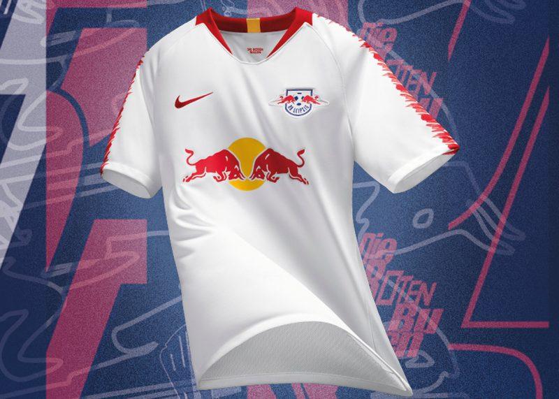 Camiseta titular del RasenBallsport Leipzig 2018/19 | Imagen Web Oficial