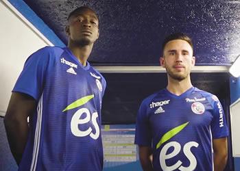Camisetas Adidas del RC Strasbourg Alsace 2018/19 | Imagen Web Oficial