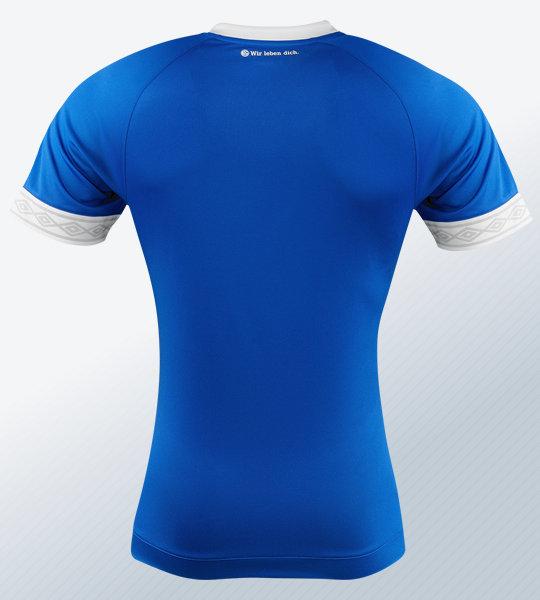 Camiseta titular Umbro del Schalke 04 | Imagen Web Oficial