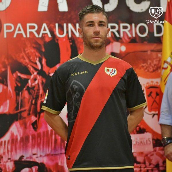 Camiseta suplente Kelme del Rayo Vallecano | Imagen Web Oficial