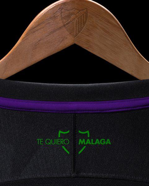 Camiseta suplente Nike 2018/19 del Málaga CF | Imagen Web Oficial