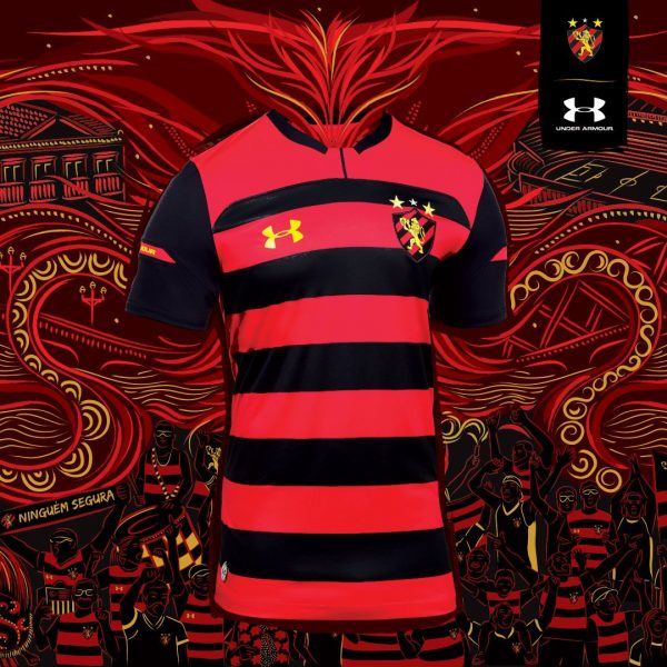 Camiseta titular del Sport Recife 2018/19 | Imagen Under Armour