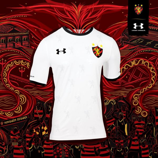 Camiseta suplente del Sport Recife 2018/19 | Imagen Under Armour