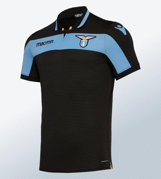 Tercera camiseta de la SS Lazio 2018/19 | Imagen Macron