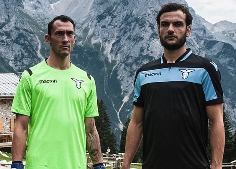 Tercera camiseta de la SS Lazio 2018/19   Imagen Web Oficial