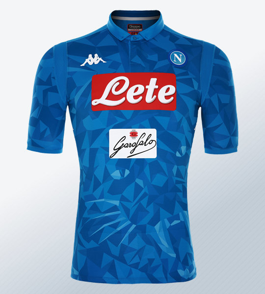 Camiseta titular del Napoli 2018/19 | Imagen Kappa