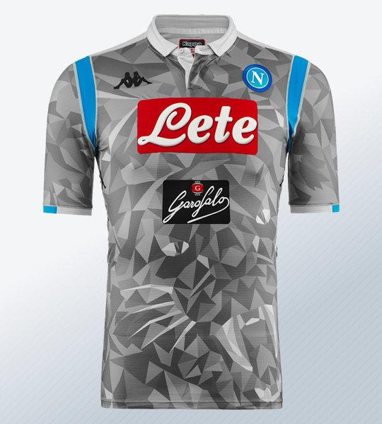 Tercera camiseta del Napoli 2018/19 | Imagen Kappa