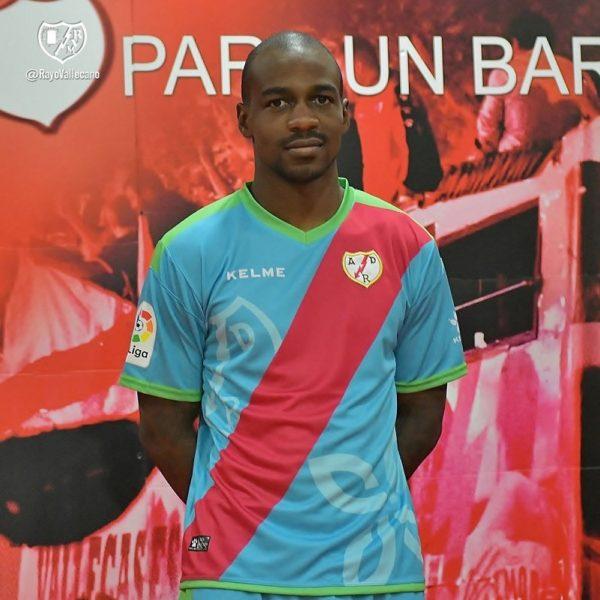 Tercera camiseta Kelme del Rayo Vallecano | Imagen Web Oficial