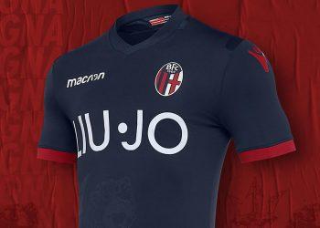 Tercera camiseta Macron del Bologna | Imagen Web Oficial