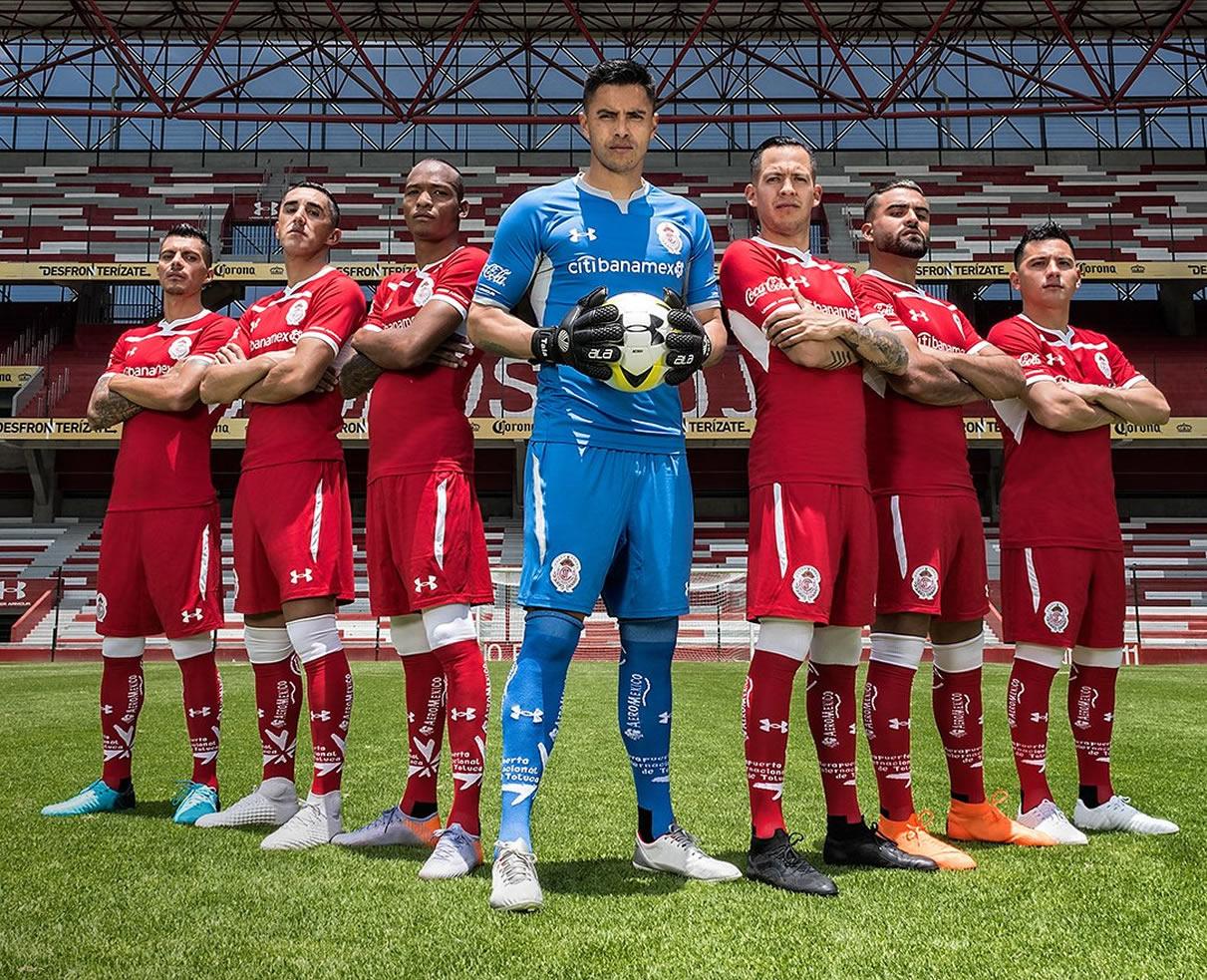 Camiseta local del Toluca 2018/19   Imagen Twitter Oficial