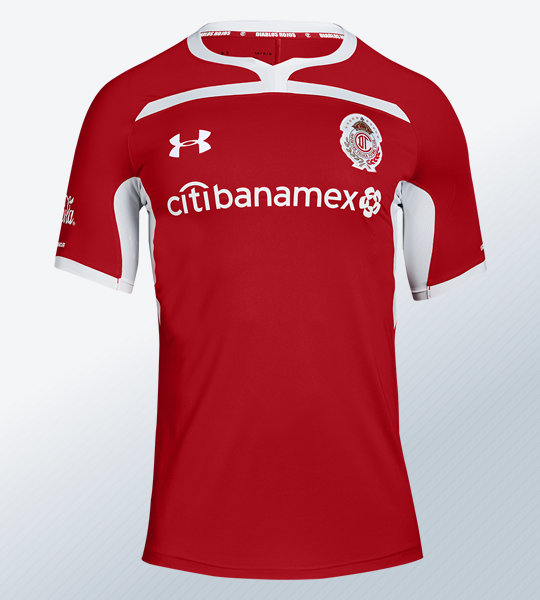 Camiseta local del Toluca 2018/19 | Imagen Under Armour