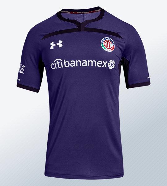 Tercera camiseta del Toluca 2018/19   Imagen Under Armour