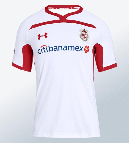 Camiseta visita del Toluca 2018/19   Imagen Under Armour