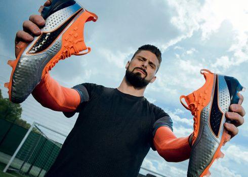 Olivier Giroud con los nuevos ONE | Imagen Puma