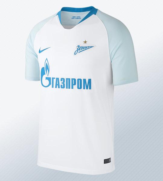 Camiseta suplente del Zenit 2018/19 | Imagen Nike