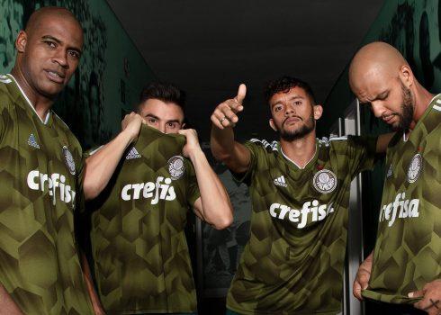 Tercera camiseta Adidas del Palmeiras | Imagen Web Oficial
