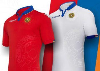 Camisetas de Armenia 2018/19 | Imagen Macron